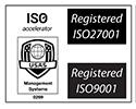 ISO 27001 and ISO 9001 Certified Web Company