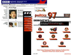 BBC Website 1997 example