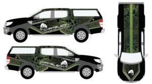 Chameleon Ford Ranger Wrap Ideas
