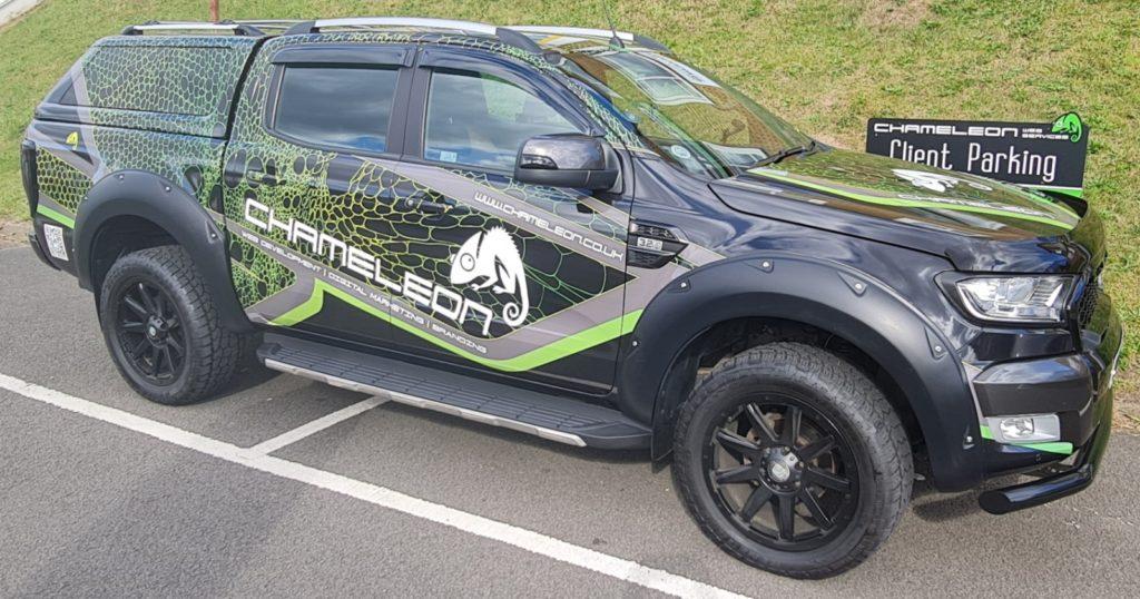 Ford Ranger Wrap Branding